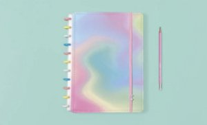 Caderno Candy Splash Médio - Caderno Inteligente