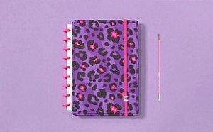 Caderno Lilac Médio - Caderno Inteligente