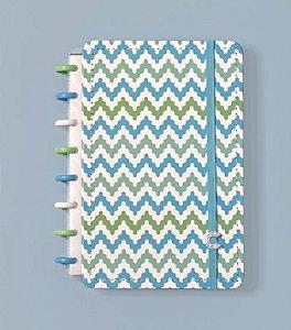 Caderno Waves  Médio - Caderno Inteligente