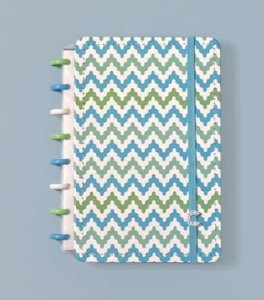 Caderno Waves Grande - Caderno Inteligente