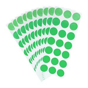 Etiqueta Redonda Verde - Grespan
