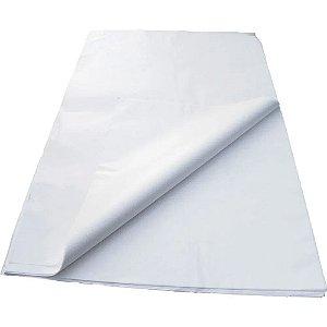 Papel Seda Branco 49x69cm - Cromus