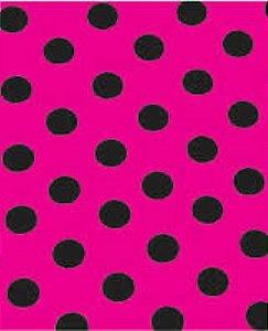 Colorset Pink Com Bolinhas Preta 48x66 - VMP