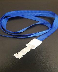 Cordão Para Crachá Azul - VMP