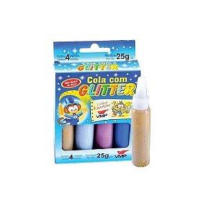 Cola Glitter 4 Cores 25G - VMP