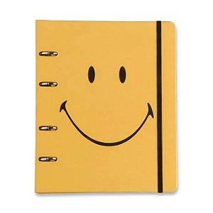 Caderno Argolado Smiley Margarida - Cícero