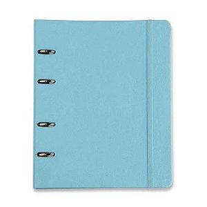 Caderno Argolado Azul Pastel - Cícero