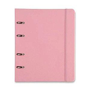Caderno Argolado Rosa Pastel - Cícero