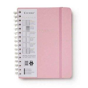 Planner Rosa Pastel Semanal A5 - Cícero