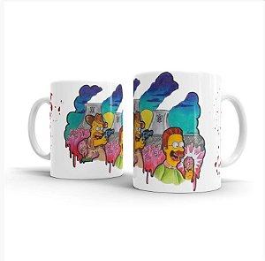Caneca Cerâmica The Walking Simpsons - Beek