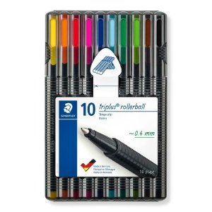Caneta Rollerball Triplus 10 Cores - Staedtler