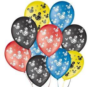 Balão Sortidos Orelha De Rato N° 9 - São Roque