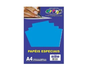 Papel Plus Azul A4 180g - Off Paper