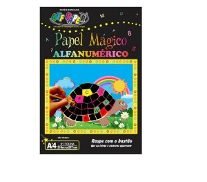 Papel Mágico Alfanumérico A4 - Off Paper