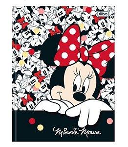 Caderno Universitário Brochura Minnie 80 Folhas -Tilibra