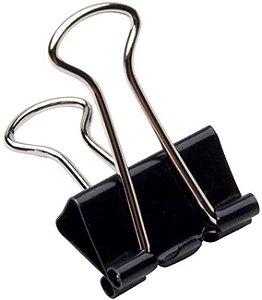 Prendedor De Papel Preto 32mm - Cis