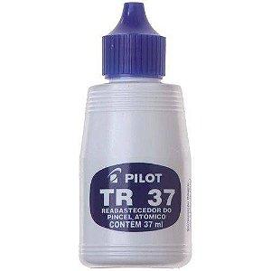 Tinta P/ Marcador Permanente Azul  - Pilot