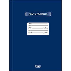 Livro Conta Corrente Pequeno 50 Folhas - Tilibra