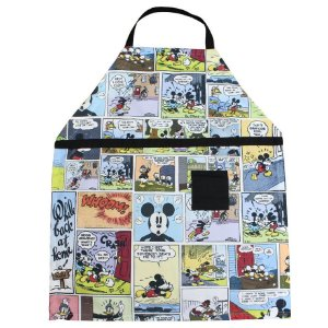 Avental Canvas Mickey 75X60 Cm -Zona Criativa