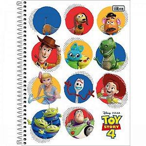 Caderno Universitario Toy Story 1 Matéria - Tilibra
