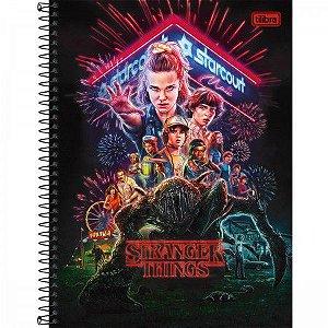 Caderno Universitário Stranger 16 Matérias - Tilibra