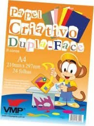 Papel Criativo Dupla-Face - Vmp