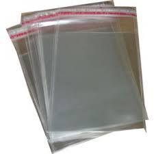 Saco Adesivado Cristal 20cm X30cm - Vmp