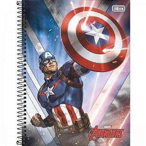 Caderno Universitário Avengers 10 Matérias - Tilibra