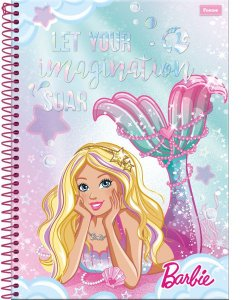 Caderno Barbie 96 Fls - Foroni