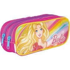 Estojo 02 Comp Barbie 19x Colorido - Sestini