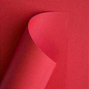 Papel Plus Vermelho A4 120g 20 Fls - Off Paper
