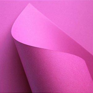 Papel Plus Pink Lumi 120g A4 20 Fls - Off Paper