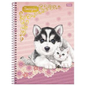 Caderno Smoogies 96 Fls - Foroni