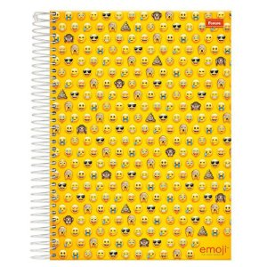 Caderno Emoji 96 Fls - Foroni