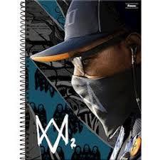 Caderno Ubisoft 10 M - Foroni