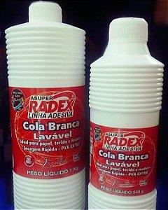 Cola Escolar Branca Asuper 1kg. - Radex