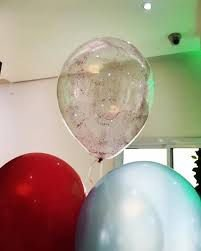 Balão  C/ Glitter  Pink - Vmp