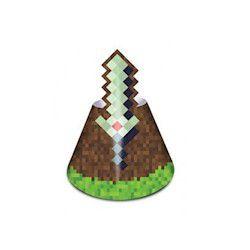 Chapeu Cone Mini Pixels C/8un