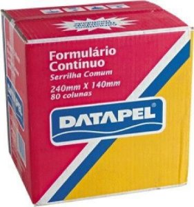 Formulario Continuo Br 1 V 240x280 Mm 3,0 Ml - Datapel
