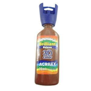 Dimensional Brilliant Marrom 35ml - Acrilex