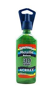 Dimensional Metallica Verde Kiwi - Acrilex