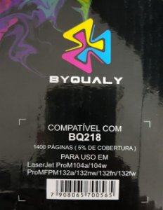 Cart De Toner Compativel C/ 218a 1,4k Byqualy