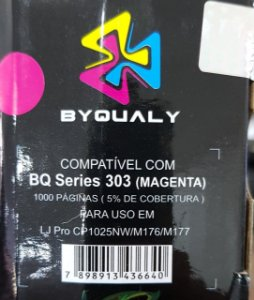 Cart De Toner Compativel C/ Bq Series 303 M 1,0k Byqualy