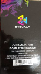 Cart De Toner Compativel C/ Scx4200/1710 3k Byqualy
