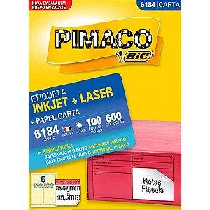 Etiqueta Carta 6184  - Pimaco