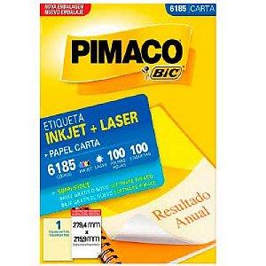 Etiqueta Carta 6185  - Pimaco