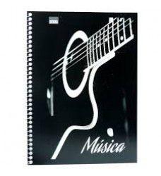 Caderno Musica 50f Espiral Duplex - São Domingos