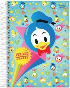 Caderno Espiral 1M Disney Fruits - Jandaia