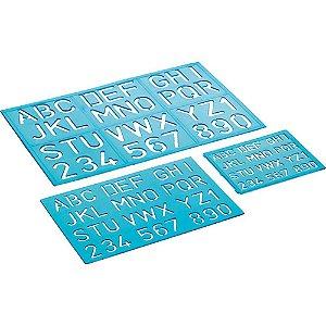 Kit Normografo Azul