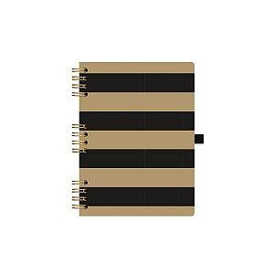 Caderno Gold&Kraft 177 - Ótima